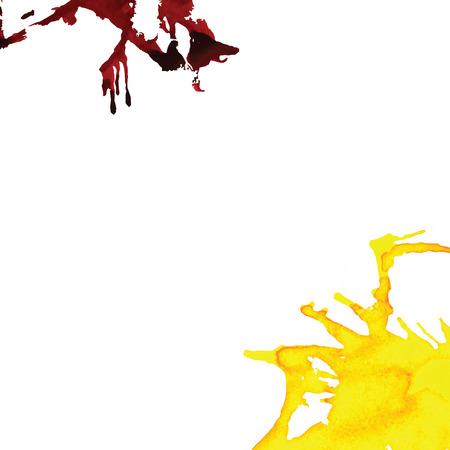 ink splatter: Abstract art vector background colorful spots. Ink splatter background. Elements for creative design.