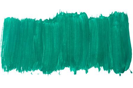 gouache: Turquoise color gouache. Grunge background paint. Stock Photo