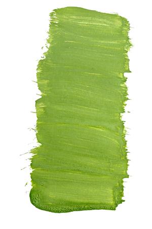 gouache: Green gouache. Grunge background paint.