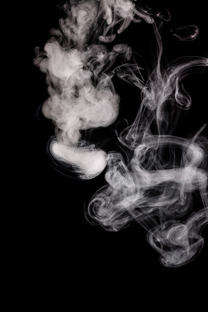 artistic addiction: Abstract smoke Weipa. Personal vaporisers fragrant steam. The concept of alternative non-nicotine smoking. Smoke on a black background. E-cigarette. Evaporator. Taking Close-up. Veyping.