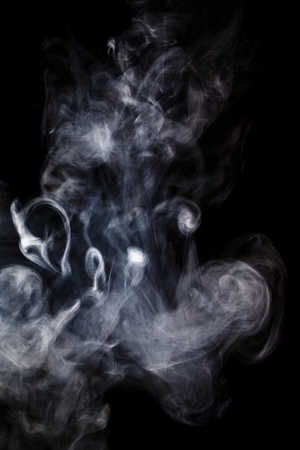 dynamic trend: Abstract smoke Weipa. Personal vaporisers fragrant steam. The concept of alternative non-nicotine smoking. Smoke on a black background. E-cigarette. Evaporator. Taking Close-up. Veyping.