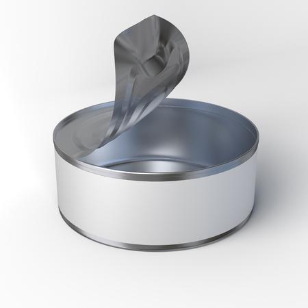 tin: Opened Tin Can