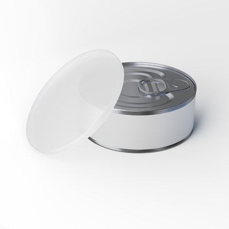 tin: Tin Can with Cup