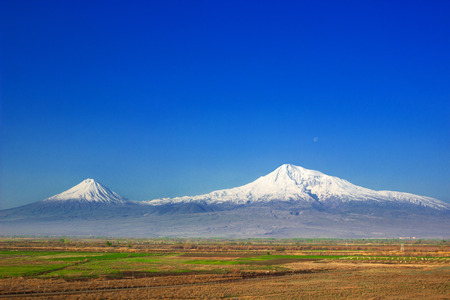 Ararat mountain , Armenia , Ararat valley photo