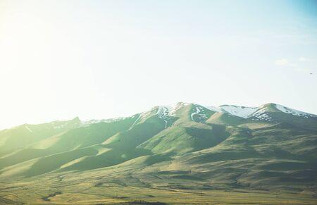 ara mountain in armenia under blue sky