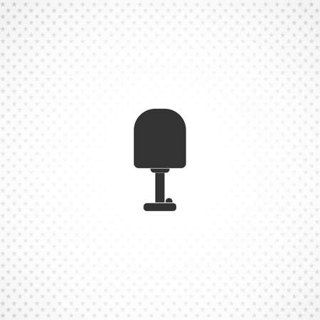 lamp vector icon for mobile concept and web apps design