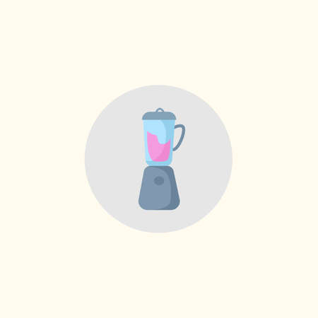 blender isolated vector flat icon