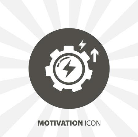 motivation isolated vector icon. education design element Ilustrace