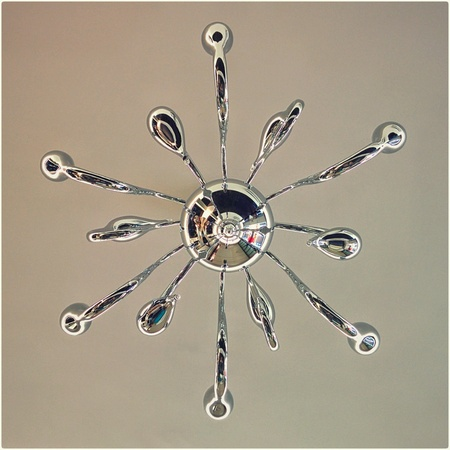 celling: Chandelier shooted in my friends house