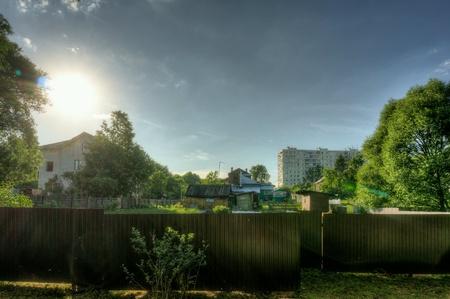 fence: Village vs city