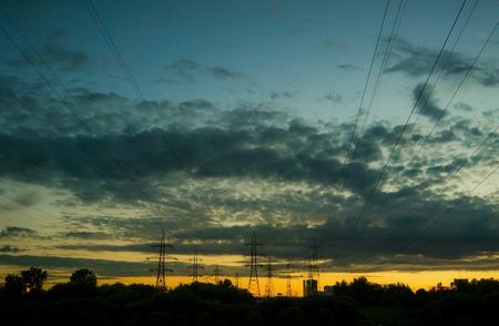 провода: Провода и облака