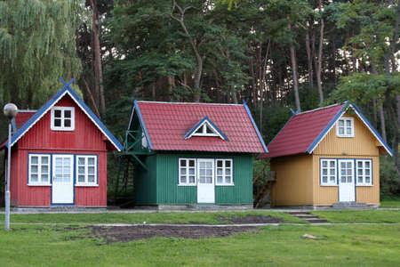 Tres casitas