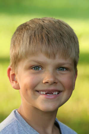 toothless: A portrait of a toothless child