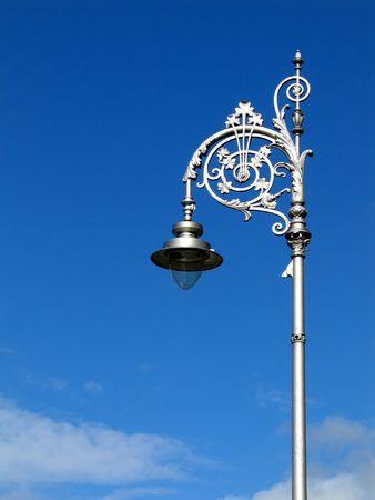 curlicue: Dublin street lamp