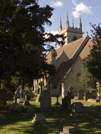 Old English Churchyard photo