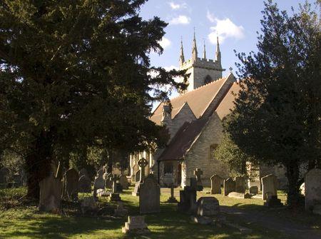 churchyard: Old English Churchyard