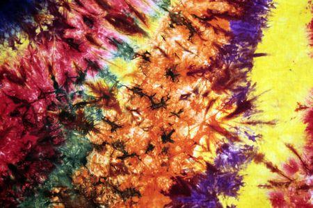 colourful tie: Batik