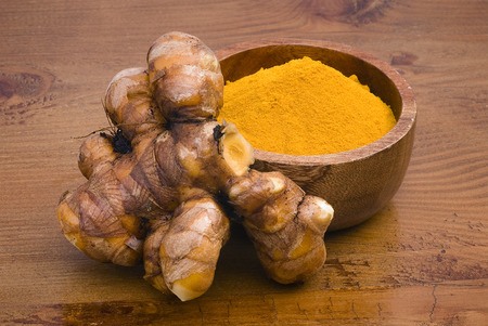 Turmeric  Curcuma longa  is a tropical plant in the same family as ginger, native to India, and cultivated throughout the tropics around the world  The spice of an intense yellow color is an essential ingredient in many recipes oriental cooking