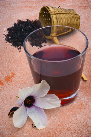 sepals: Hibiscus tea (Roselle) Also known as Karkad or Roselle. Flower and sepals dried for infusions