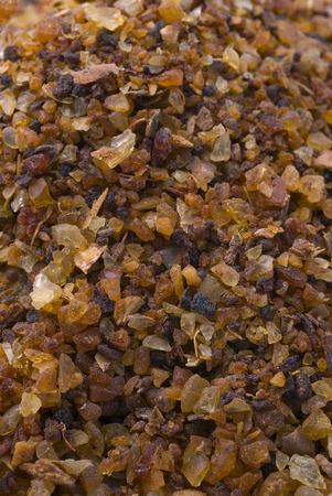myrrh (Commiphora myrrha), fragrant resin. gum rosin. Archivio Fotografico