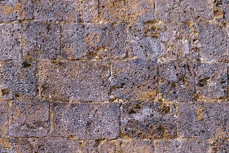 historical fuff wall, San Gimignano (SI), Tuscany, Italy Stock fotó