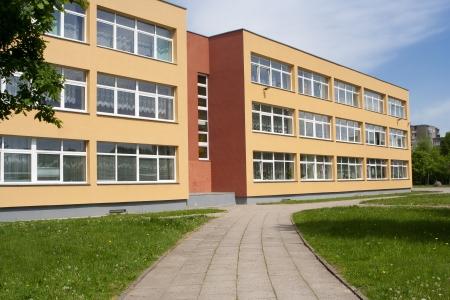 edificio escuela: Edificio de la escuela Editorial