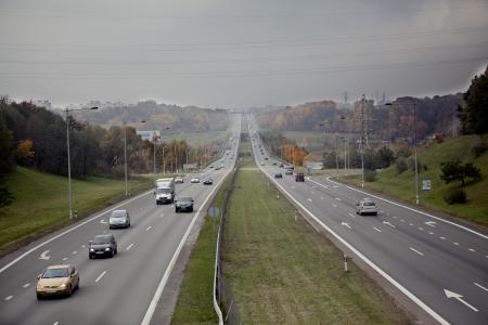 Highway traffic Editorial