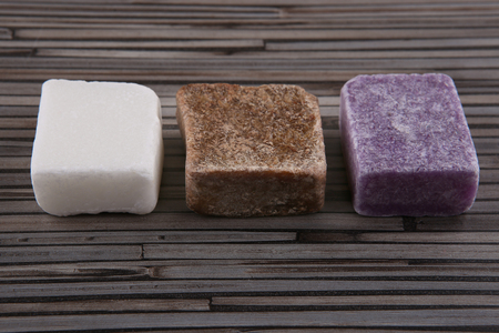 Dry perfume for home and body. Dry soap bars. Stock Photo