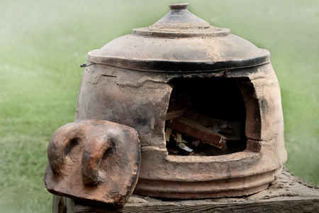 Medieval oven  for baking bread.