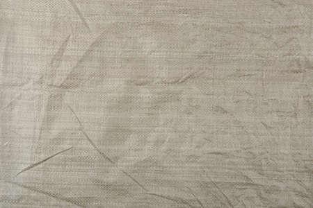 Woven plastic bag texture background.  Polypropylene sack cloth surface.