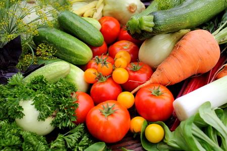 fresh vegetables  Foto de archivo