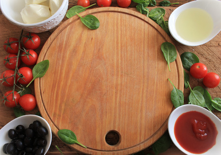 pizza ingredients: pizza ingredients