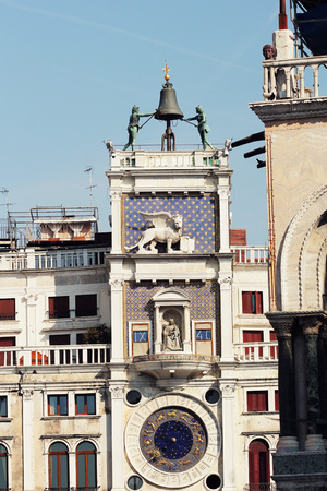 procuratie: The San Marco bell tower in Venice, Italy