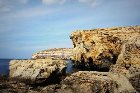 windows: Azure window, crashed Azure Window place in Malta , Gozo island