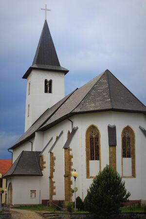 Evangelical church Novy Smokovec. High Tatras. Slovakia . Stock fotó