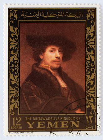 rembrandt: post stamps