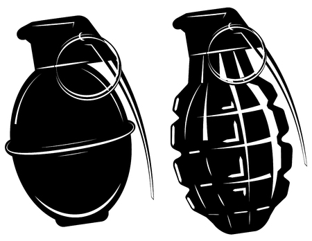 grenade: hand grenade, bomb explosion, weapons army weapon