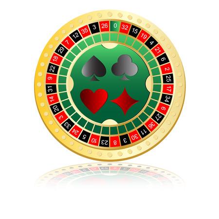 ardour: an icon is roulette  Illustration