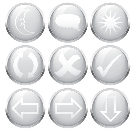 lustre: icons are the internet Illustration
