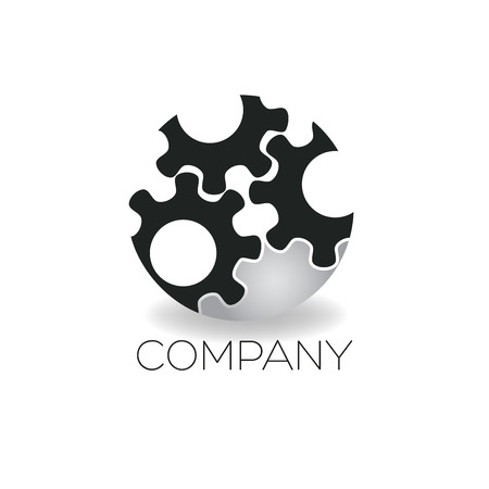 cog wheel: cog wheel icon Illustration