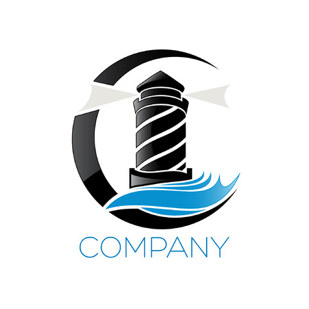 Leuchtturm Symbol Standard-Bild - 33711625