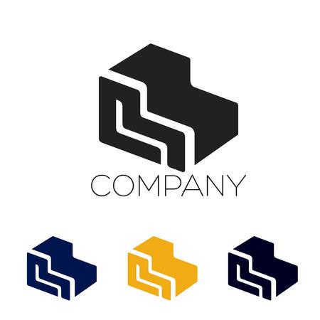 Furniture logotype Illustration