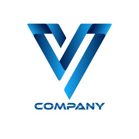 v alphabet: S V icon Illustration