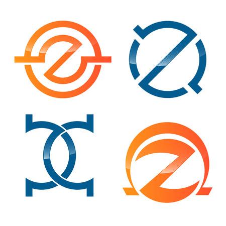 Z icon Illustration