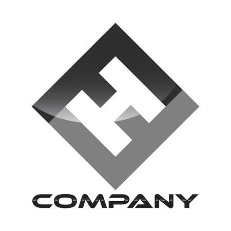 a logo: FH logo Illustration