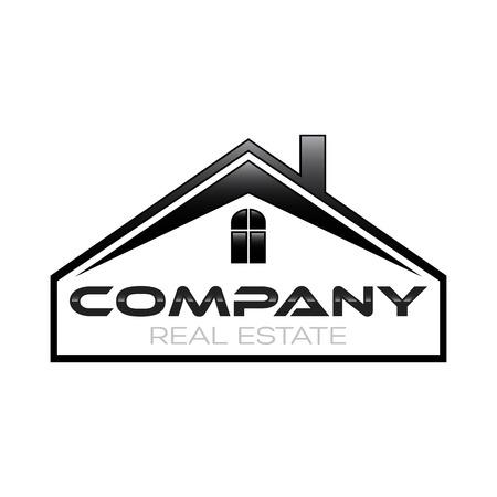estate: real estate logo Illustration