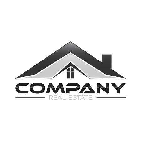 real estate logo Illustration
