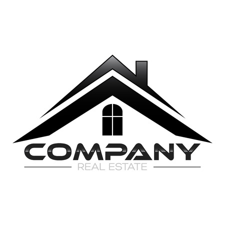 real estate logo Ilustrace