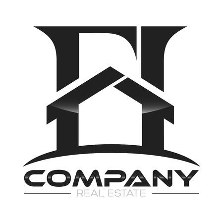 real: real estate logo Illustration