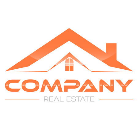 house logo: real estate logo Illustration